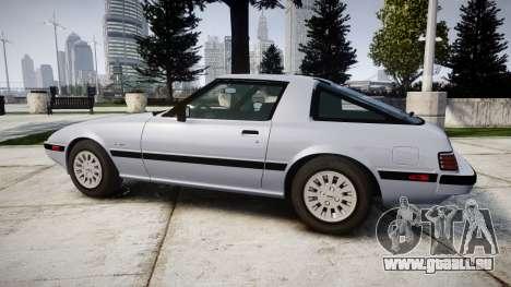 Mazda RX-7 1985 FB3s [EPM] pour GTA 4 est une gauche