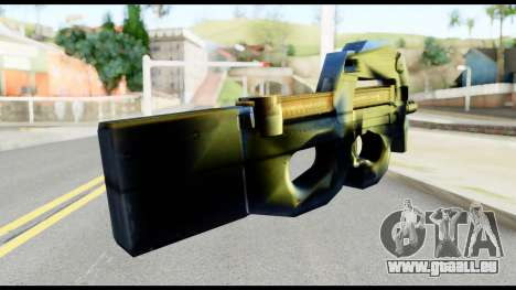 P90 from Metal Gear Solid für GTA San Andreas zweiten Screenshot