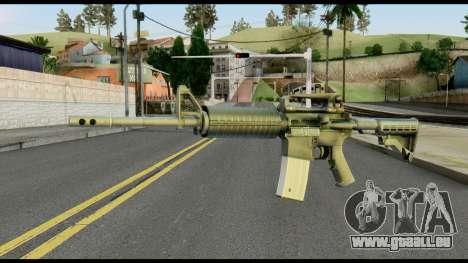 Colt Commando from Max Payne für GTA San Andreas