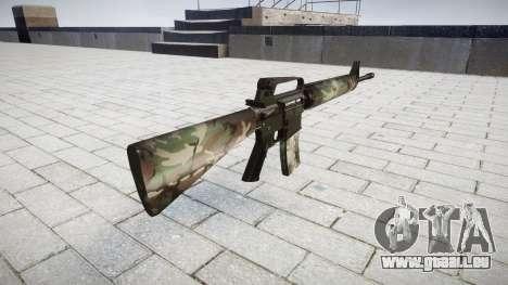Die M16A2 Gewehr Wald für GTA 4 Sekunden Bildschirm