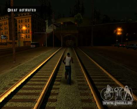 Colormod Dark Low für GTA San Andreas achten Screenshot