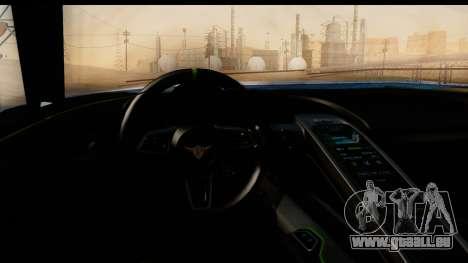 New ZR-350 (ZR-380) v1.0 pour GTA San Andreas vue de dessus