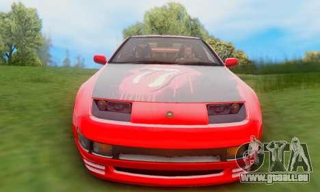 Nissan 300XZ The Rolling pour GTA San Andreas vue arrière