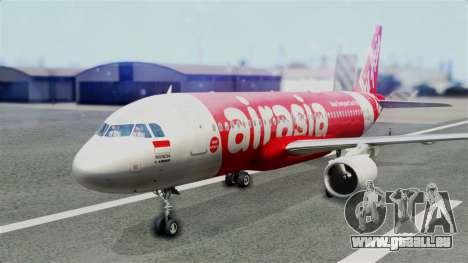 Air Asia Airbus A320 PK-AZF für GTA San Andreas