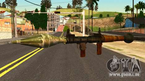 Rocket Launcher from GTA 4 für GTA San Andreas