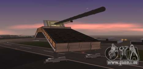 Landkreuzer P. 1500 Monster for SA:MP pour GTA San Andreas troisième écran