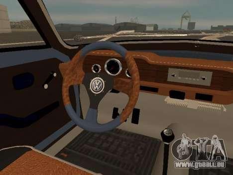 Volkswagen SP2 Original für GTA San Andreas Innen
