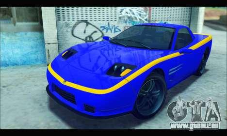 Coquette (GTA IV) pour GTA San Andreas