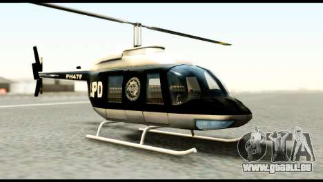 Beta Police Maverick für GTA San Andreas