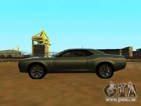 GTA 5 Bravado Gauntlet pour GTA San Andreas vue intérieure