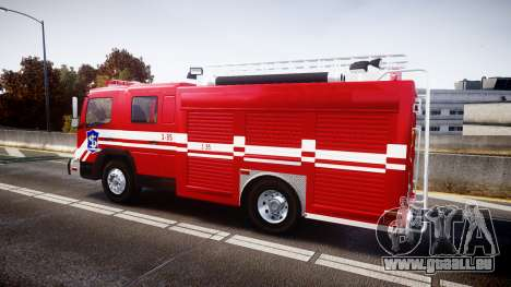 Mercedes-Benz Atego Indonesian Fire Truck [ELS] für GTA 4 linke Ansicht
