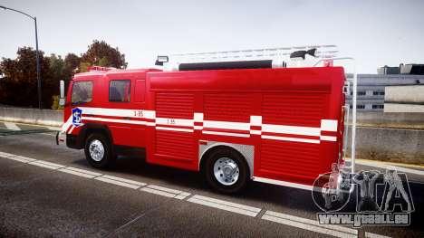 Mercedes-Benz Atego Indonesian Fire Truck [ELS] pour GTA 4 est une gauche
