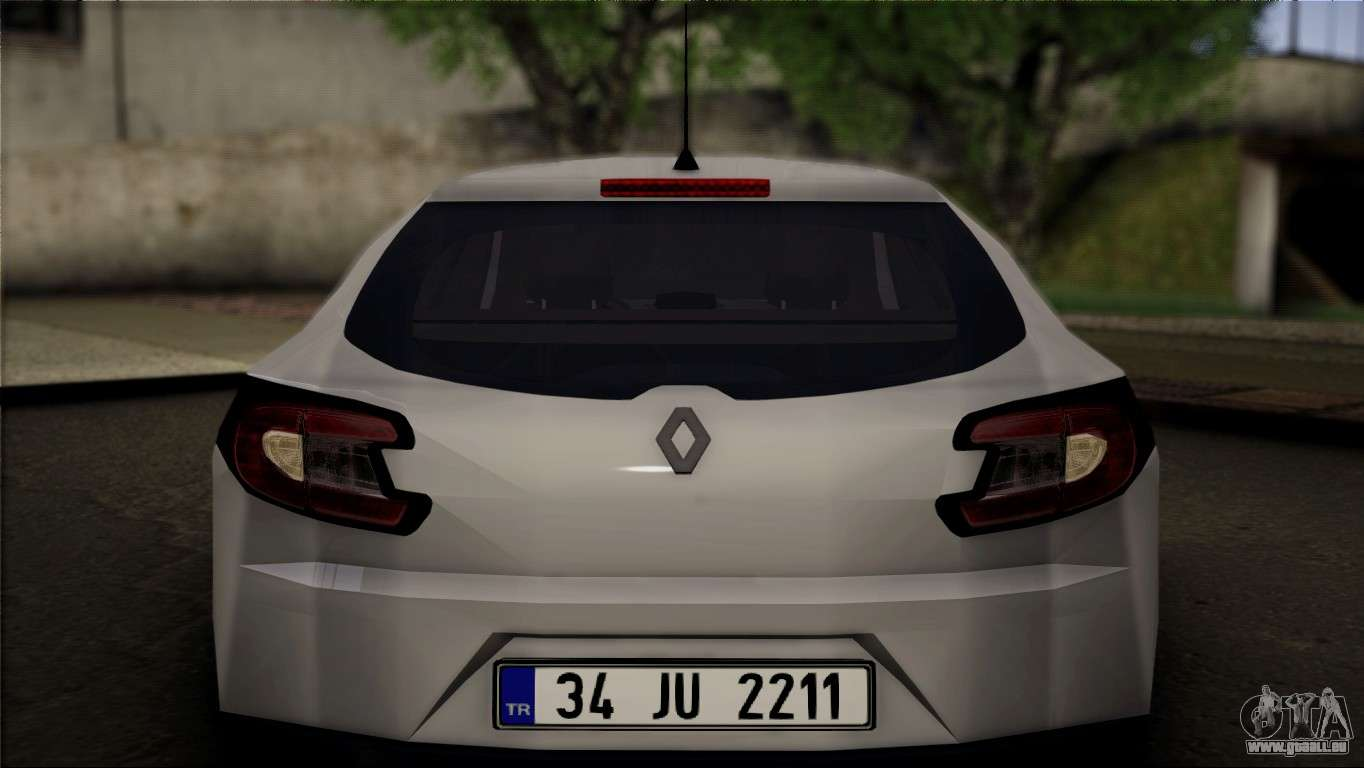 renault megane sport tourer 1 5 dci 2011 pour gta san andreas. Black Bedroom Furniture Sets. Home Design Ideas