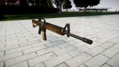 Die M16A2 Gewehr dusty