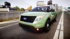 Ford Explorer 2013 Army [ELS] pour GTA 4