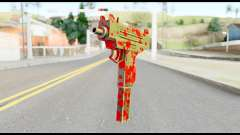 Micro SMG with Blood pour GTA San Andreas