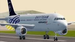 Airbus A320-200 Air France Skyteam Livery für GTA San Andreas