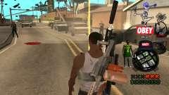 C-HUD Sweet pour GTA San Andreas