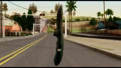 Solidsnake CQC Knife from Metal Gear Solid pour GTA San Andreas