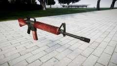Le M16A2 fusil rouge