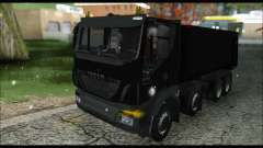 Iveco Trakker 2014 Tipper Snow (IVF & ADD) pour GTA San Andreas