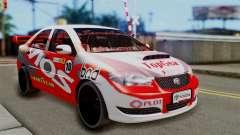 Toyota Vios TRD Racing v2 pour GTA San Andreas