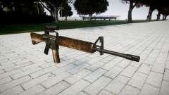 Le M16A2 fusil [optique] poussiéreux