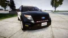Ford Explorer 2013 County Sheriff [ELS] pour GTA 4