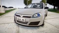 Vauxhall Astra 2009 Police [ELS] Unmarked pour GTA 4