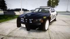 Dodge Charger SRT8 2010 Sheriff [ELS] rambar pour GTA 4