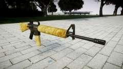 Die M16A2 Gewehr gold