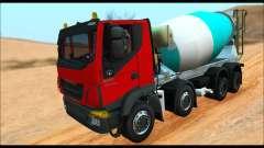 Iveco Trakker 2014 Concrete (IVF & ADD) pour GTA San Andreas