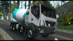 Iveco Trakker 2014 Concrete Snow für GTA San Andreas
