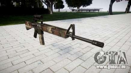 Le M16A2 fusil [optique] erdl pour GTA 4