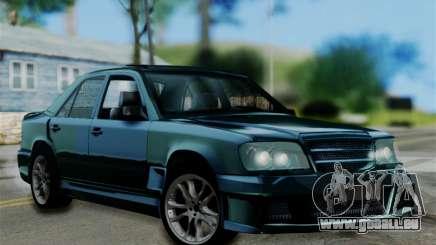 Mercedes-Benz W124 BRABUS V12 pour GTA San Andreas