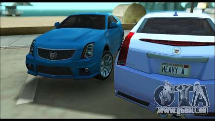 Cadillac CTS-V Coupe pour GTA San Andreas