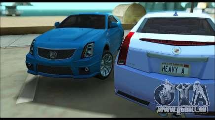 Cadillac CTS-V Coupe für GTA San Andreas