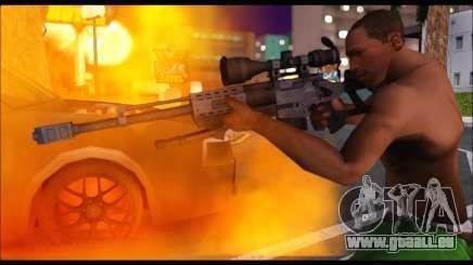 Raab KM50 Sniper Rifle From F.E.A.R. 2 für GTA San Andreas
