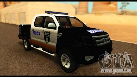 Ford Ranger P.B.A 2015 Text3 pour GTA San Andreas