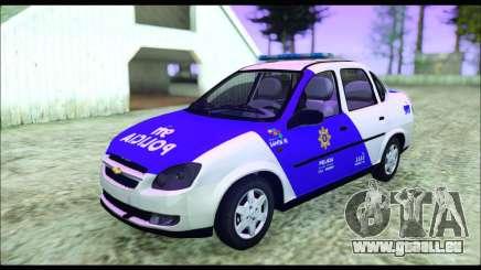 Chevrolet Corsa Classic Policia de Santa Fe pour GTA San Andreas