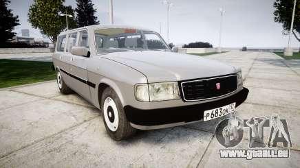 GAZ 31022 rims2 pour GTA 4