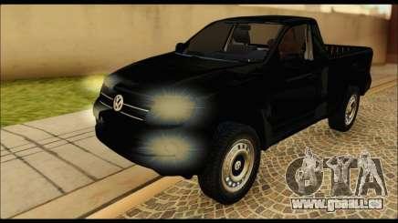Volkswagen Amarok Cabina Simple pour GTA San Andreas