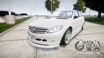 GTA V Benefactor Schafter body small rims pour GTA 4
