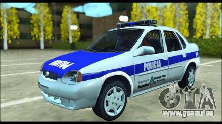 Chevrolet Corsa Policia Bonaerense für GTA San Andreas