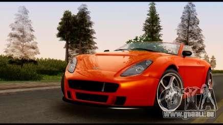 GTA 5 Dewbauchee Rapid GT Cabrio [IVF] für GTA San Andreas
