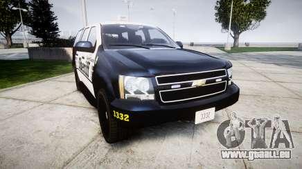Chevrolet Tahoe 2013 County Sheriff [ELS] pour GTA 4