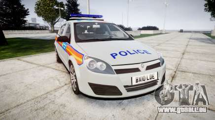 Vauxhall Astra 2010 Police [ELS] Whelen Liberty pour GTA 4