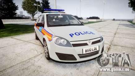 Vauxhall Astra 2010 Police [ELS] Whelen Liberty für GTA 4