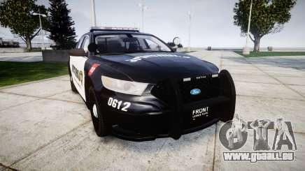 Ford Taurus 2013 Georgia Police [ELS] pour GTA 4
