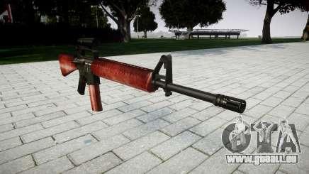 Le M16A2 fusil [optique] rouge pour GTA 4